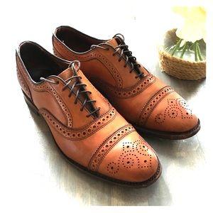 Allen Edmonds Oxford Dress Shoes Sz 9 fit 10.5